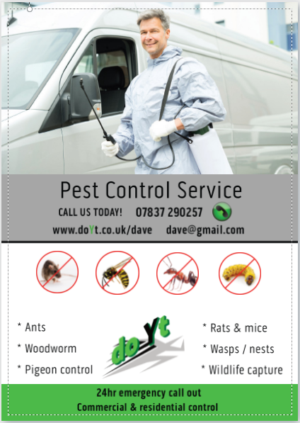pest control services franchise