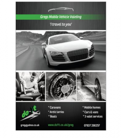 Mobile Car Valeting Franchise product