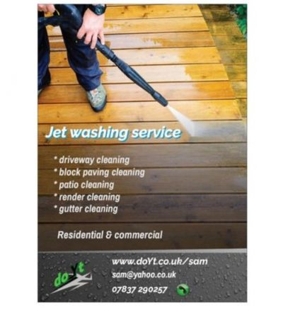 Jet Washing Franchise