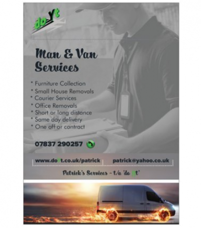 Man & Van Franchise